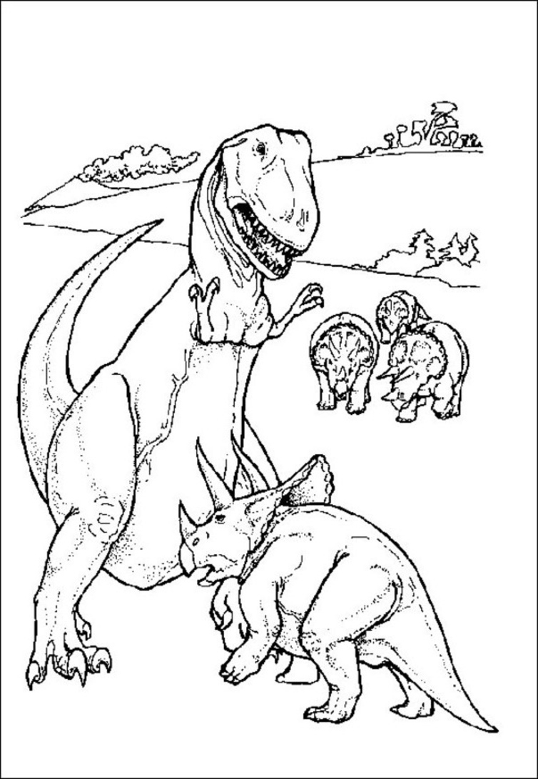 dinosaur printable coloring pages coloring lab