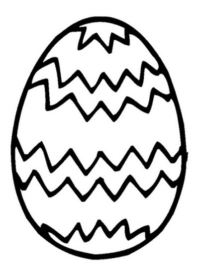 easter egg coloring pages 4 - Easter Eggs Coloring Pages