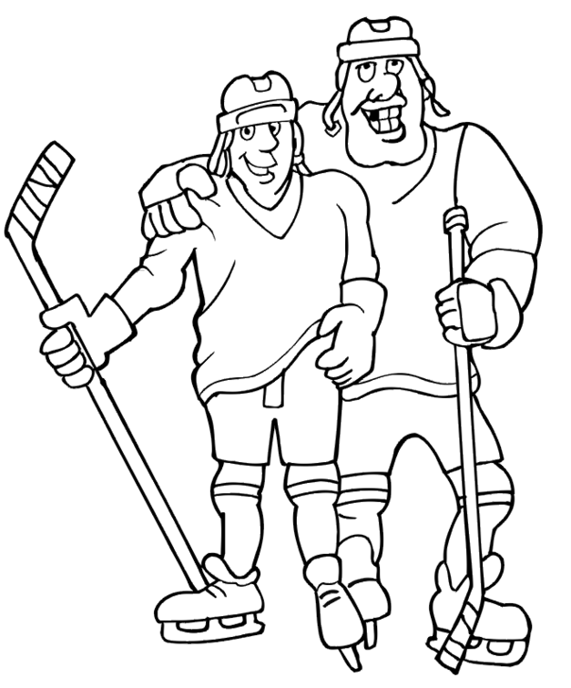 Hockey Coloring Pages Coloring Lab Hockey Colouring Pages