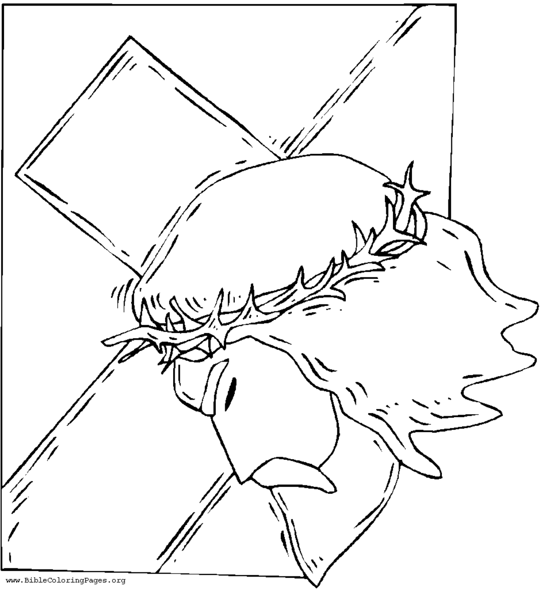 jesus caring coloring pages - photo #29