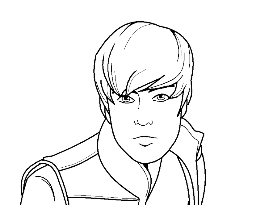 Justin Bieber Coloring Pages | Coloring Lab