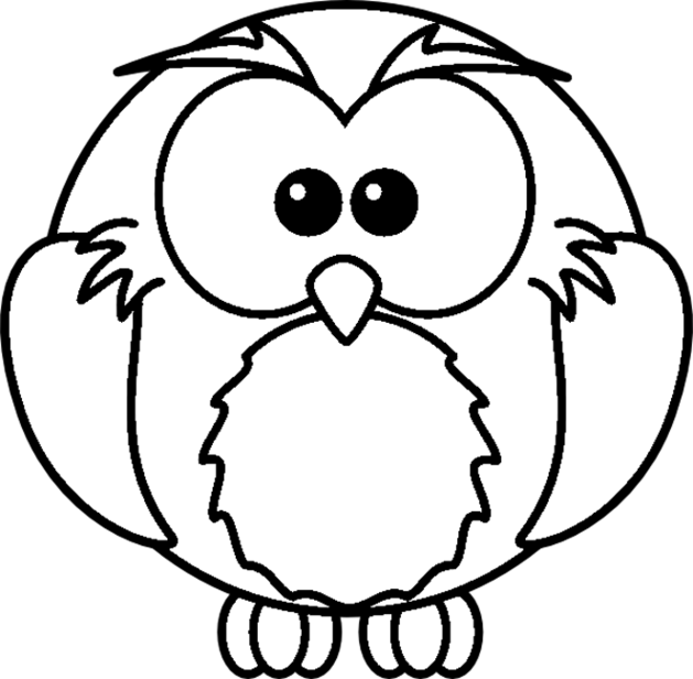 a owl coloring pages - photo #5
