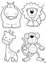 animals coloring pages 3
