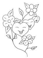 heart coloring pages 2